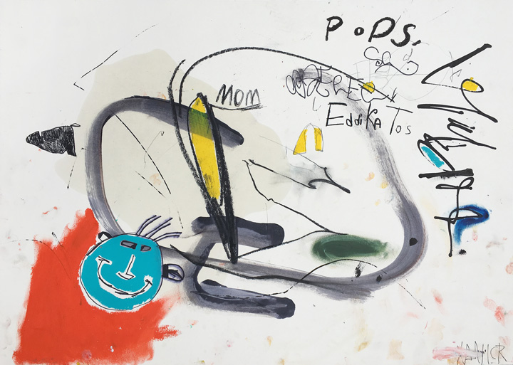 Drawing called Pops from Streetplay by Xavi Ceerre